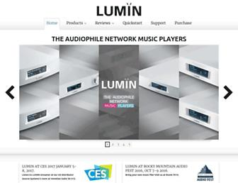 luminmusic.com screenshot