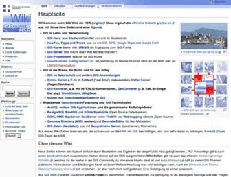 giswiki.hsr.ch screenshot