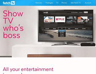 fetchtv.com.au screenshot