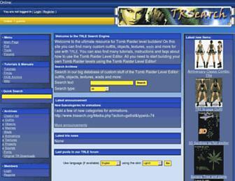 trsearch.org screenshot