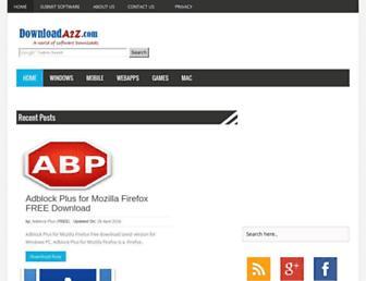 downloada2z.com screenshot