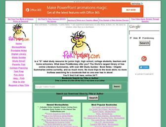 Thumbshot of Pinkmonkey.com
