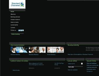 Thumbshot of Standardchartered.com