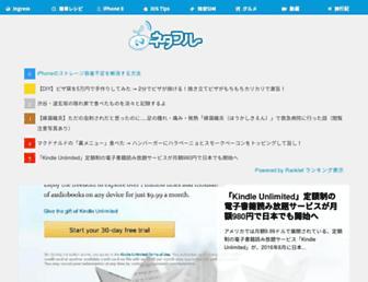 Main page screenshot of netafull.net