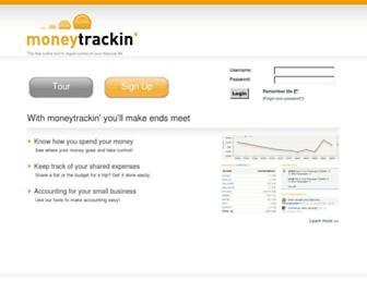 Thumbshot of Moneytrackin.com