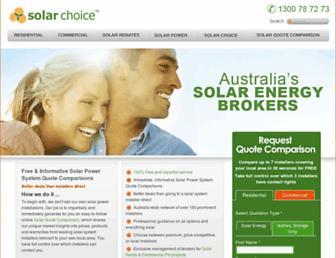 Thumbshot of Solarchoice.net.au