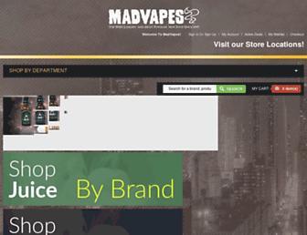 Thumbshot of Madvapes.com
