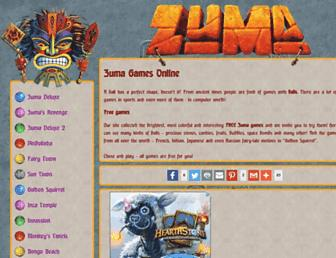 zumaballs.com screenshot
