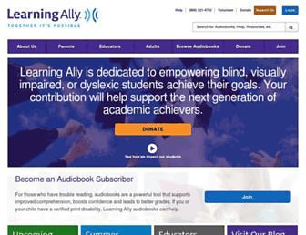 Thumbshot of Learningally.org
