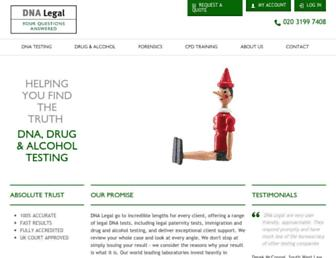 dnalegal.com screenshot