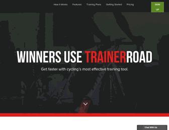 trainerroad.com screenshot