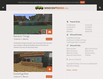 Thumbshot of Minecraftmods.com