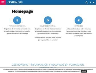 gestion.org screenshot