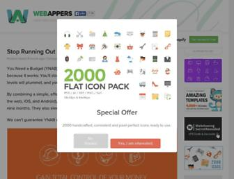 Thumbshot of Webappers.com