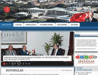 ankara.gov.tr screenshot