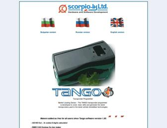 scorpio-lk.com screenshot