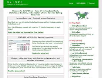 betgps.com screenshot