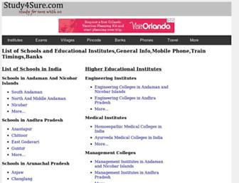 study4sure.com screenshot