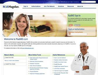 www1.radmd.com screenshot