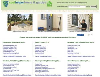 home.costhelper.com screenshot