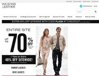 Thumbshot of Wilsonsleather.com