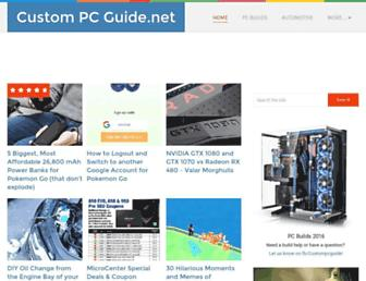 custompcguide.net screenshot