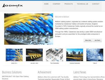 addison-tech.com screenshot