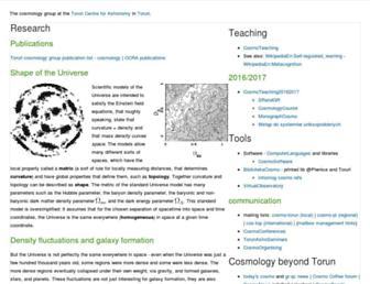 cosmo.torun.pl screenshot