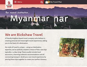rickshawtravel.co.uk screenshot