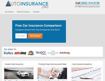 autoinsurance.org screenshot