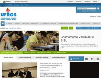 Thumbshot of Ufrgs.br