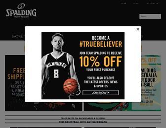 spalding.com.au screenshot