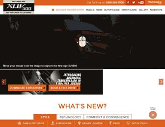 Thumbshot of Mahindraxuv500.com