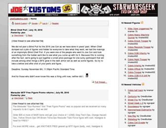 joecustoms.com screenshot