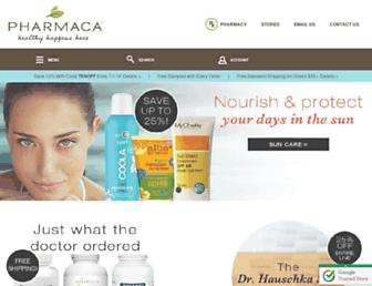pharmaca.com screenshot