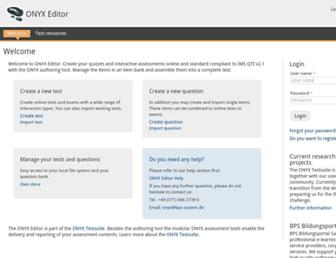 onyx-editor.org screenshot