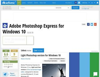 adobe-photoshop-express-windows-10.en.softonic.com screenshot