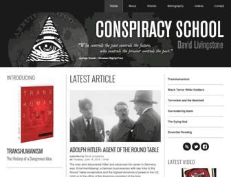 conspiracyschool.com screenshot