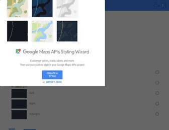mapstyle.withgoogle.com screenshot