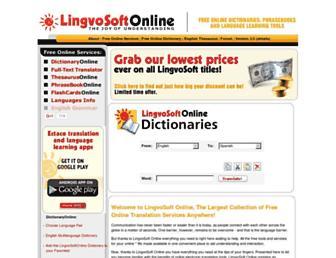 Thumbshot of Lingvozone.com