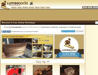 lumberjocks.com screenshot