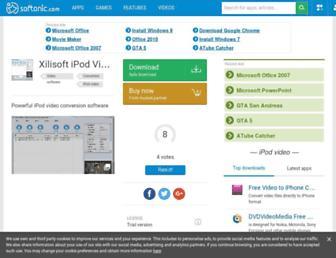 xilisoft-ipod-video-converter.en.softonic.com screenshot