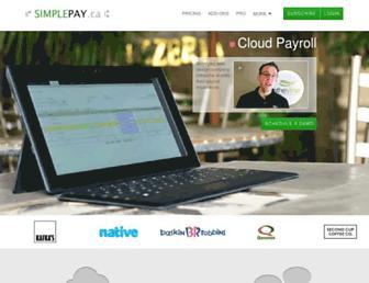 simplepay.ca screenshot