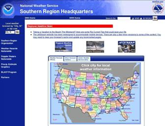 srh.noaa.gov screenshot