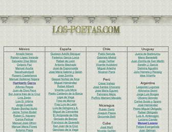 los-poetas.com screenshot