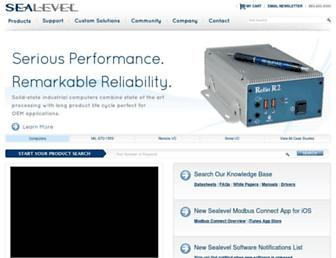 sealevel.com screenshot