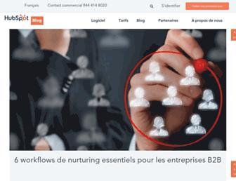 blog.hubspot.fr screenshot