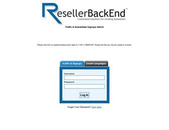 Thumbshot of Resellerbackend.com