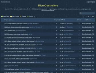 microcontrollers.2385.n7.nabble.com screenshot