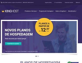 kinghost.com.br screenshot